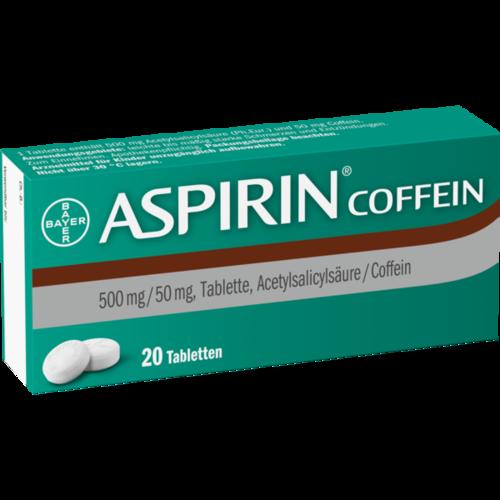 Verpackungsbild(Packshot) von ASPIRIN Coffein Tabletten