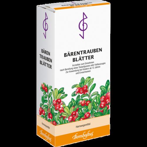 Verpackungsbild(Packshot) von BÄRENTRAUBENBLÄTTER Tee