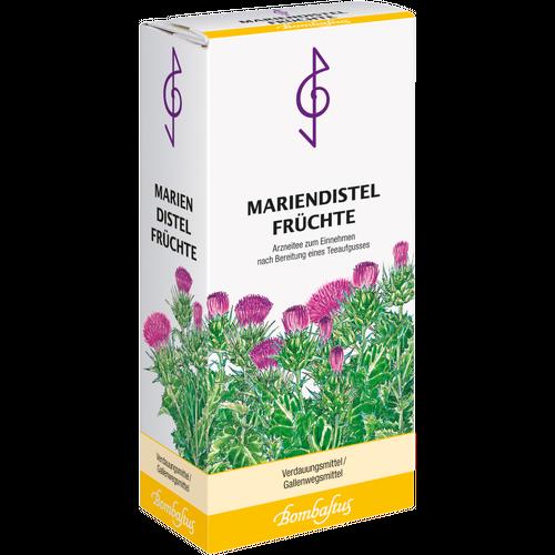 Verpackungsbild(Packshot) von MARIENDISTEL FRÜCHTE Tee