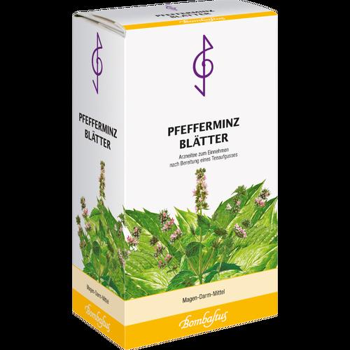 Verpackungsbild(Packshot) von PFEFFERMINZBLÄTTER Tee