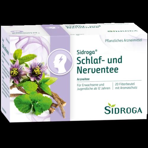 Verpackungsbild(Packshot) von SIDROGA Schlaf- und Nerventee Filterbeutel