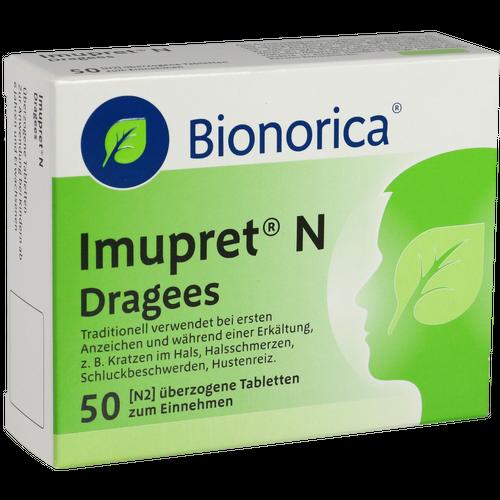 Verpackungsbild(Packshot) von IMUPRET N Dragees