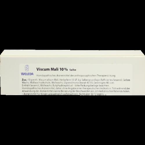 Verpackungsbild(Packshot) von VISCUM MALI 10% Salbe
