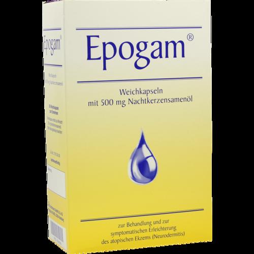 Verpackungsbild(Packshot) von EPOGAM Weichkapseln