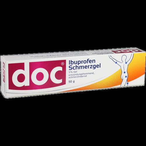 Verpackungsbild(Packshot) von DOC IBUPROFEN Schmerzgel 5%