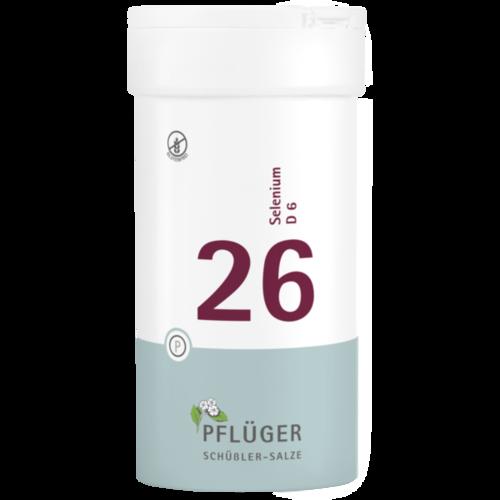 Verpackungsbild(Packshot) von BIOCHEMIE Pflüger 26 Selenium D 6 Tabletten