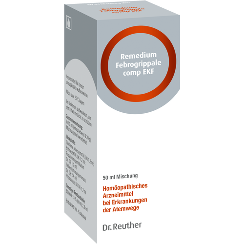 Verpackungsbild(Packshot) von REMEDIUM Febrogrippale comp.EKF flüssig