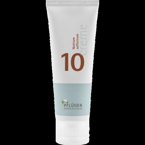Verpackungsbild(Packshot) von BIOCHEMIE Pflüger 10 Natrium sulfuricum Creme