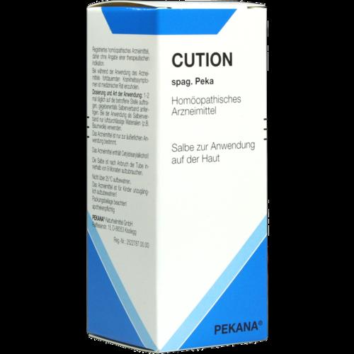 Verpackungsbild(Packshot) von CUTION spag.Peka Lotion