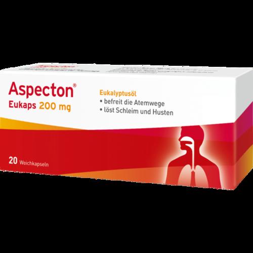 Verpackungsbild(Packshot) von ASPECTON Eukaps 200 mg Weichkapseln