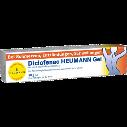 Verpackungsbild(Packshot) von DICLOFENAC Heumann Gel