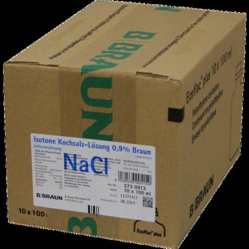 Verpackungsbild(Packshot) von KOCHSALZLÖSUNG 0,9% Miniflac