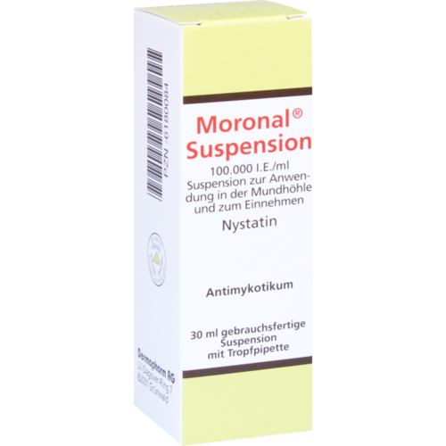 Verpackungsbild(Packshot) von MORONAL Suspension