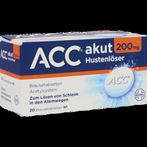 Verpackungsbild(Packshot) von ACC akut 200 Brausetabletten