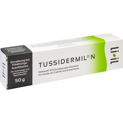 Verpackungsbild(Packshot) von TUSSIDERMIL N Emulsion