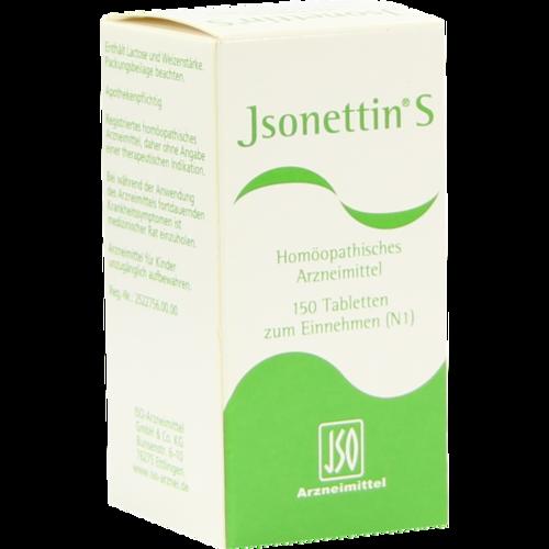Verpackungsbild(Packshot) von JSONETTIN S Tabletten
