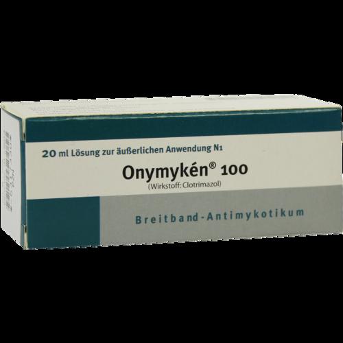 Verpackungsbild(Packshot) von ONYMYKEN 100 Lösung
