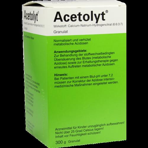 Verpackungsbild(Packshot) von ACETOLYT Granulat