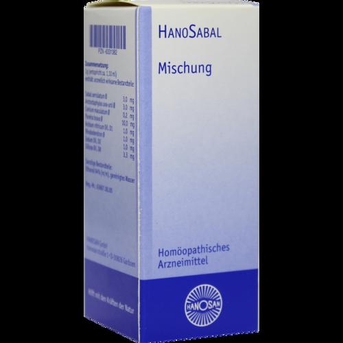 Verpackungsbild(Packshot) von HANOSABAL flüssig