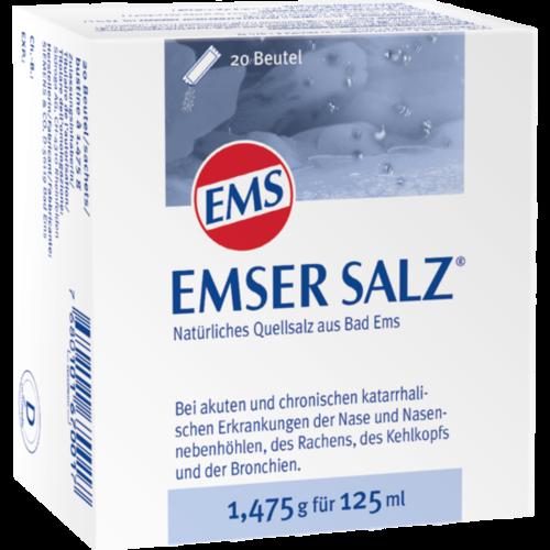 Verpackungsbild(Packshot) von EMSER Salz 1,475 g Pulver