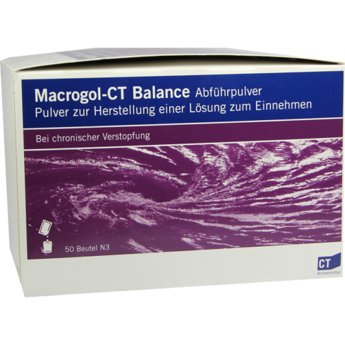 Verpackungsbild(Packshot) von MACROGOL-CT Balance Abführpulver