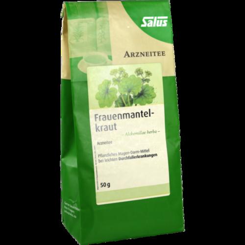 Verpackungsbild(Packshot) von FRAUENMANTELKRAUT Arzneitee Alche.herba Bio Salus