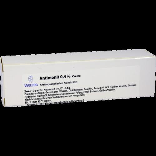 Verpackungsbild(Packshot) von ANTIMONIT 0,4 % Creme