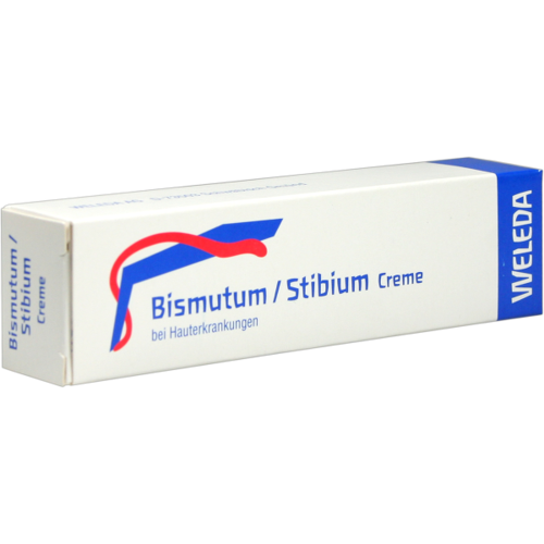 Verpackungsbild(Packshot) von BISMUTUM/STIBIUM Creme