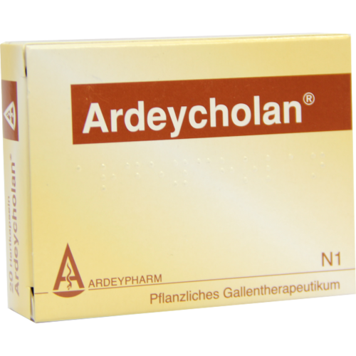 Verpackungsbild(Packshot) von ARDEYCHOLAN Hartkapseln