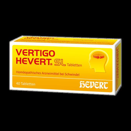 Verpackungsbild(Packshot) von VERTIGO HEVERT SL Tabletten