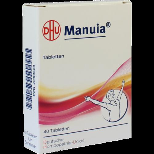 Verpackungsbild(Packshot) von MANUIA Tabletten