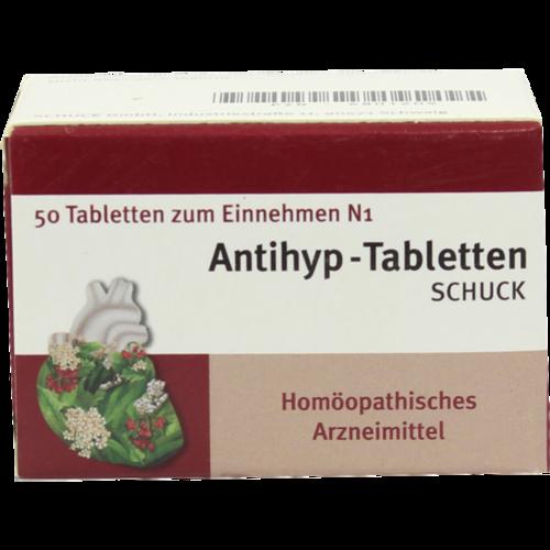 Verpackungsbild(Packshot) von ANTIHYP Tabletten Schuck