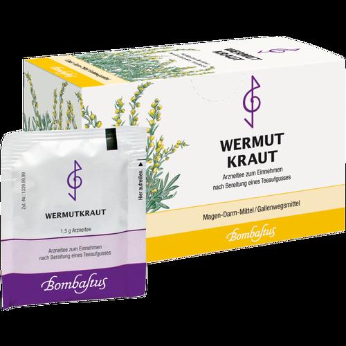 Verpackungsbild(Packshot) von WERMUTKRAUT Tee Filterbeutel