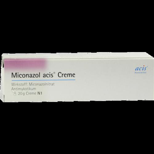 Verpackungsbild(Packshot) von MICONAZOL acis Creme