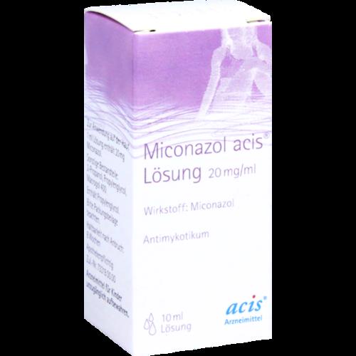 Verpackungsbild(Packshot) von MICONAZOL acis Lösung