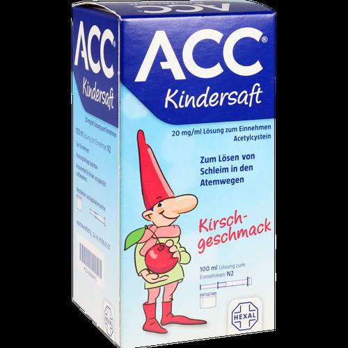 Verpackungsbild(Packshot) von ACC Kindersaft