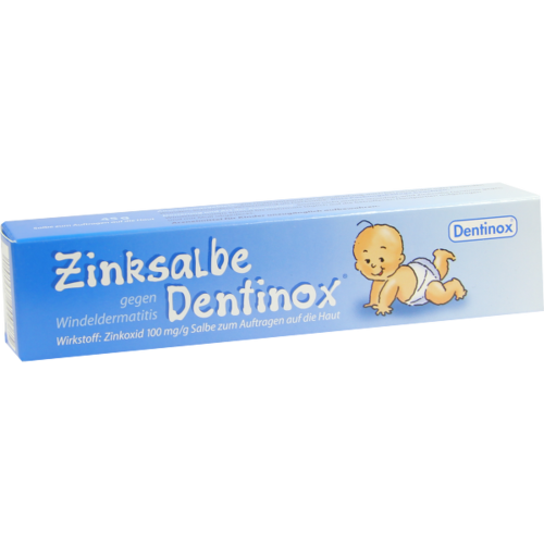 Verpackungsbild(Packshot) von ZINKSALBE Dentinox