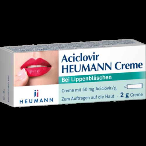 Verpackungsbild(Packshot) von ACICLOVIR Heumann Creme
