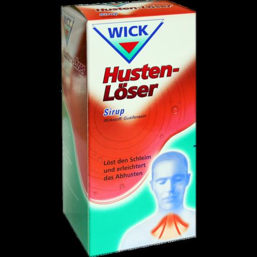 Verpackungsbild(Packshot) von WICK Husten Löser Sirup