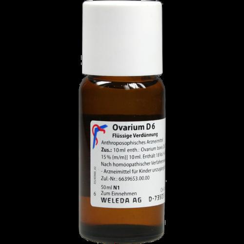 Verpackungsbild(Packshot) von OVARIUM D 6 Dilution