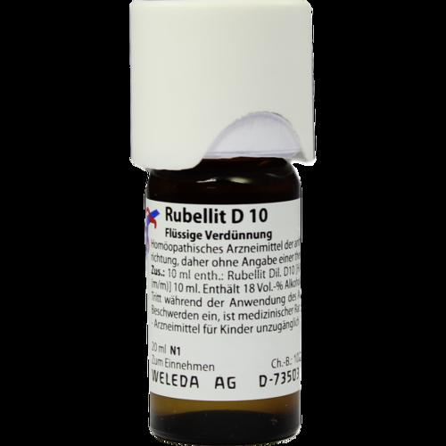 Verpackungsbild(Packshot) von RUBELLIT D 10 Dilution