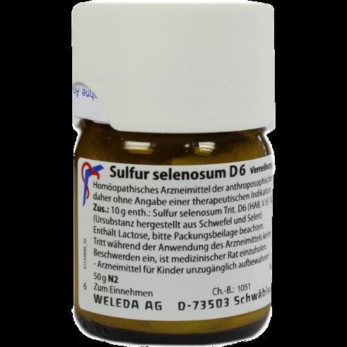 Verpackungsbild(Packshot) von SULFUR SELENOSUM D 6 Trituration