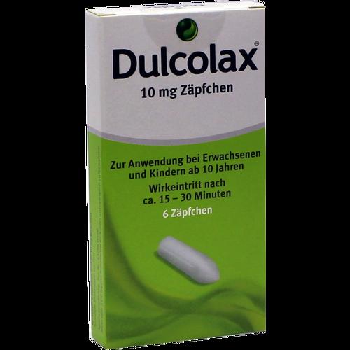 Verpackungsbild(Packshot) von DULCOLAX Suppositorien