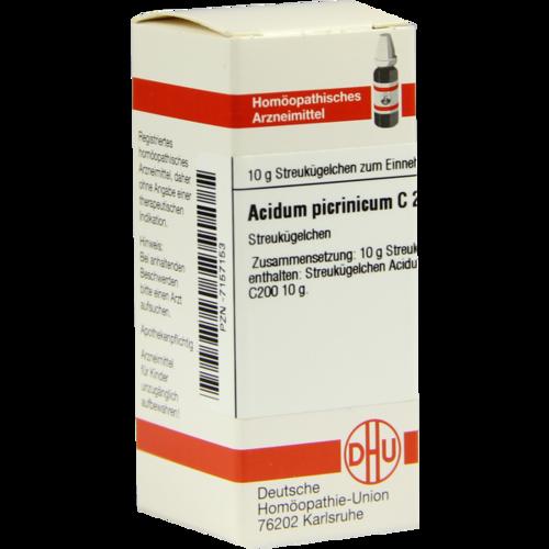 Verpackungsbild(Packshot) von ACIDUM PICRINICUM C 200 Globuli