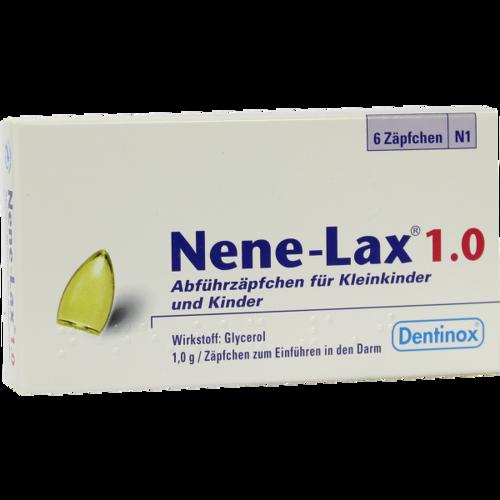 Verpackungsbild(Packshot) von NENE LAX 1,0 Suppos.f.Kleinkdr.u.Kdr.