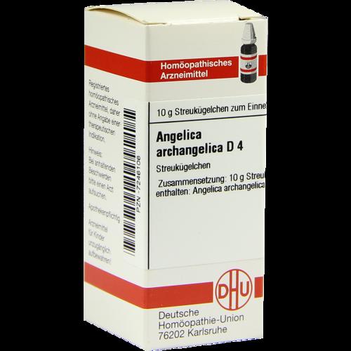 Verpackungsbild(Packshot) von ANGELICA ARCHANGELICA D 4 Globuli