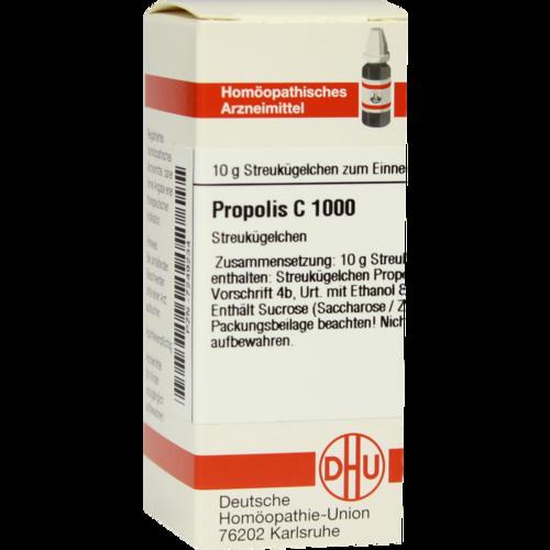 Verpackungsbild(Packshot) von PROPOLIS C 1000 Globuli