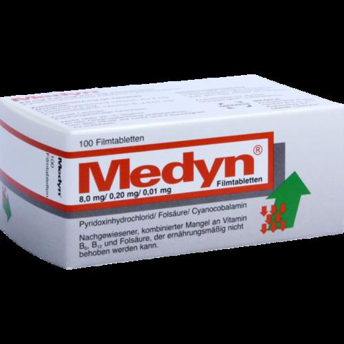 Verpackungsbild(Packshot) von MEDYN Filmtabletten