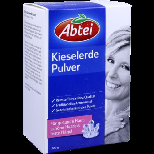 Verpackungsbild(Packshot) von ABTEI Kieselerde geschmacksneutral Pulver