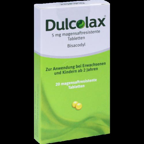 Verpackungsbild(Packshot) von DULCOLAX Dragees magensaftresistente Tabletten